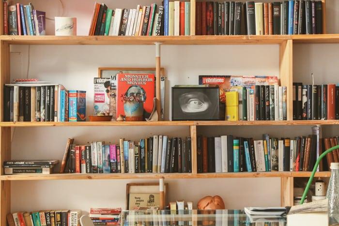 20 Brilliant Bookshelves Design Ideas For Your Living Room