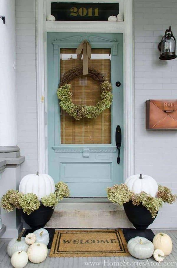 Mint Front Door