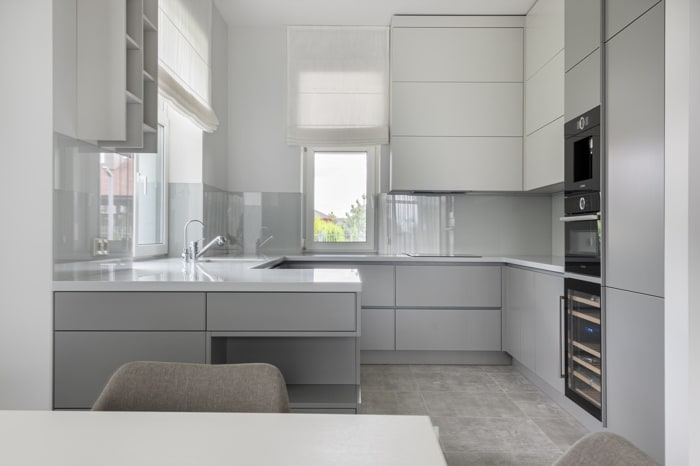 20 Stylish Soft Grey Cabinet Design Ideas For Your Kitchen