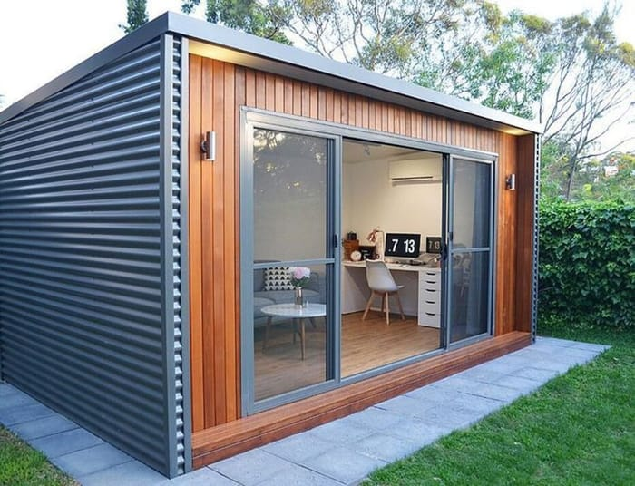 Transform Your Garden Shed Into A Backyard Studio Office